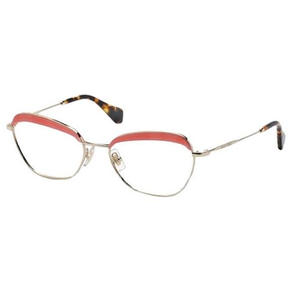 db134d7cb19 MU51NV-PC21O1 Women s Gold Frame Eyeglasses
